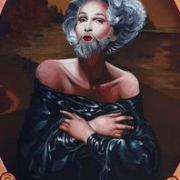 Ma_Lisa_acrylic_on_canvas_70x50cm