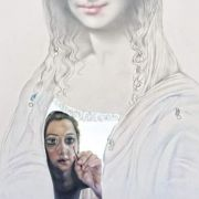 Mixed_media_pencil_oil_color_on_wood_70x50cm