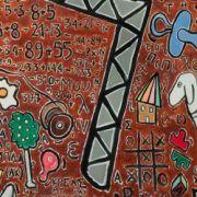 Crane_Oil_on_canvas_180X180cm_2015